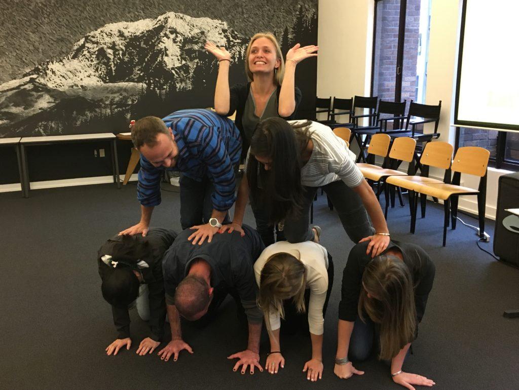 Organizational Improv Pyramid